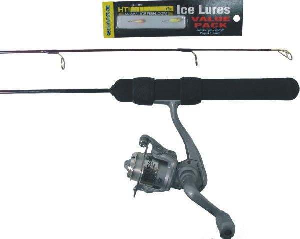 HT Cherry Creek Ice Fishing rod & reel combos