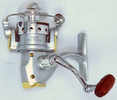 Master Piece Ultralight Spinning Reel, Infinite Anti Reverse, Machined  Aluminum Handle With Wooden Knob