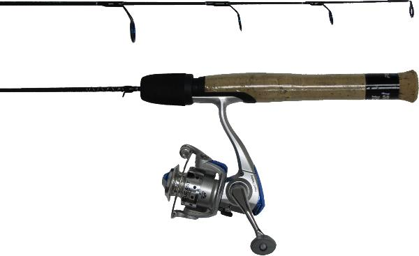 HT Polar Fire Ice Fishing rod & reel combos