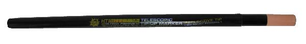 "HT Telescopic Polar Tip Up Marker extends to 36"" long. Easily locate Tip-ups from a distance. Durable construction, includes ruler, collapses for easy storage."